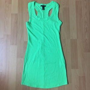Neon Green Bodycon Dress 💚